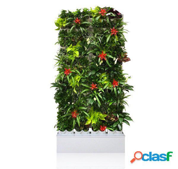 Giardino verticale parete verde fioriera alta di design