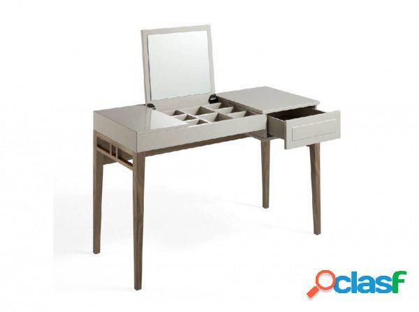Tavolo make up toeletta da camera con cassetto e specchio