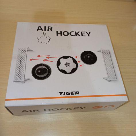 Gioco tavolo air hockey tiger