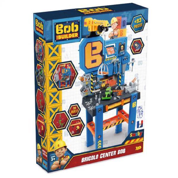Smoby banco da lavoro per bambini bob the builder blu e
