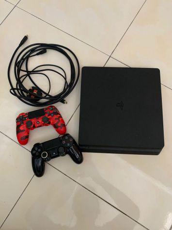 Playstation 4 500 gb + 2 controller + 2 giochi
