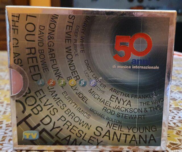 Cofanetto 50 anni di musica internazionale