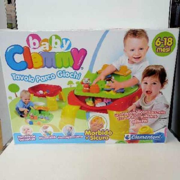 Gioco tavolo parco giochi baby clemmi 6/18 mesi