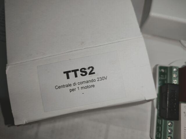 Centralina motori tapparelle tts2 230v