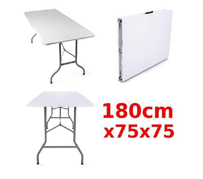 Set tavolo 180x75 e 4 sedie pieghevoli pronta consegna buja - casalinghi - articoli per casa e giardino