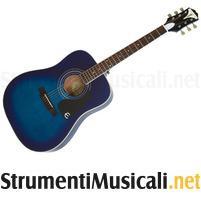 Epiphone pro-1 plus acoustic translucent blue