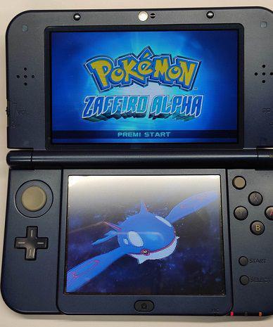 New 3ds xl + pokemon zaffiro alpha + nsm bros 2