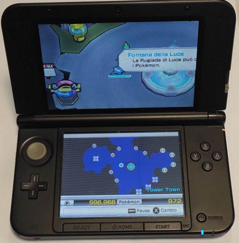 Nintendo 3ds xl + pokemon rumble + new smb 2