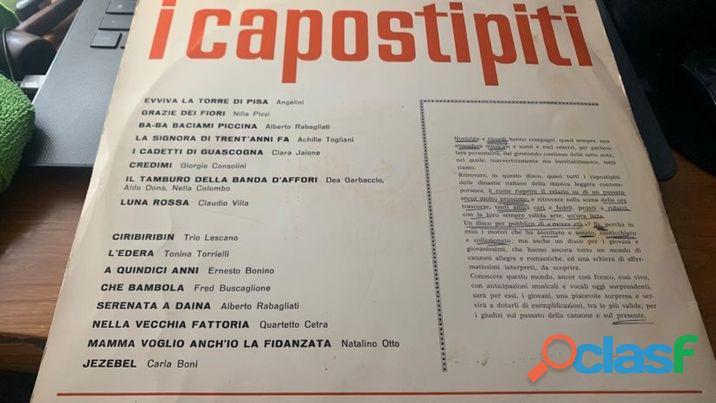 I CAPOSTIPITI LP 1