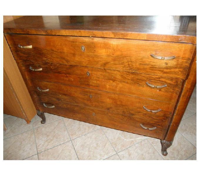 Como' grande antico con 4 cassettoni, DA RESTAURARE in vendita Torino - Vendita mobili usati