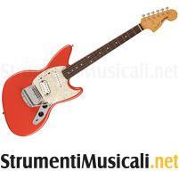 FENDER Kurt Cobain Jag-Stang RW Fiesta Red