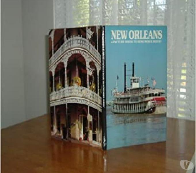 New Orleans A Picture Book To Remember Her By Ted Smart Triuggio - Collezionismo in vendita