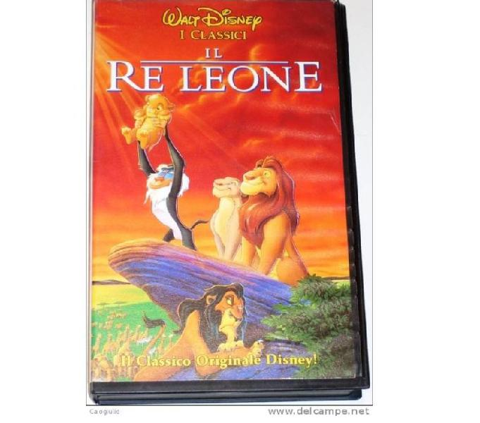 Vhs Walt Disney originali Scandiano