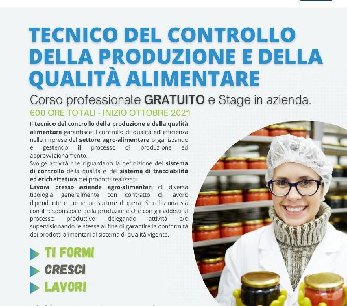corso Tecnico del controllo della produzione e della qualità Sant'Antonio Abate - Formazione professionale