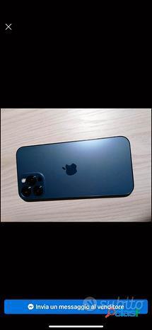 Iphone 12 pro max 256 blu Pacifico