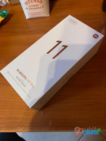 Xiaomi 11 t pro 128 gb nero nuovo sigillato
