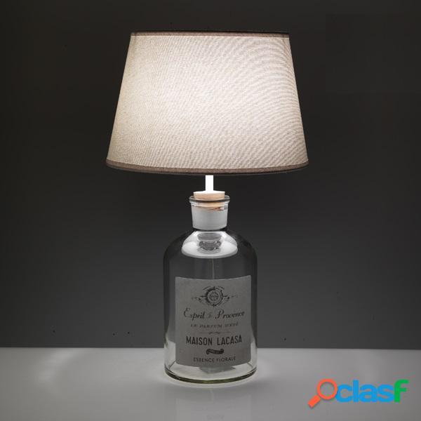 Lampada tavolo bottle