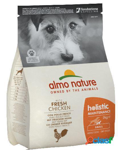 Almo nature cane holistic small kg 2 con pollo e riso