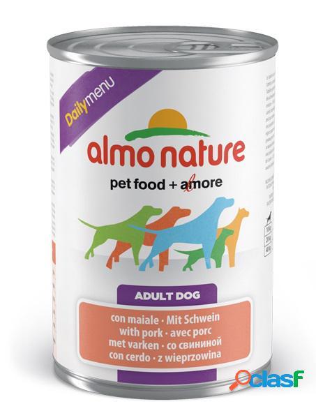 Almo nature daily menu pfc per cani gr 400 con maiale