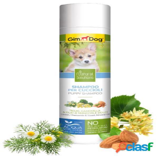 Gimdog natural solutions shampoo per cani 250 ml cuccioli tiglio...