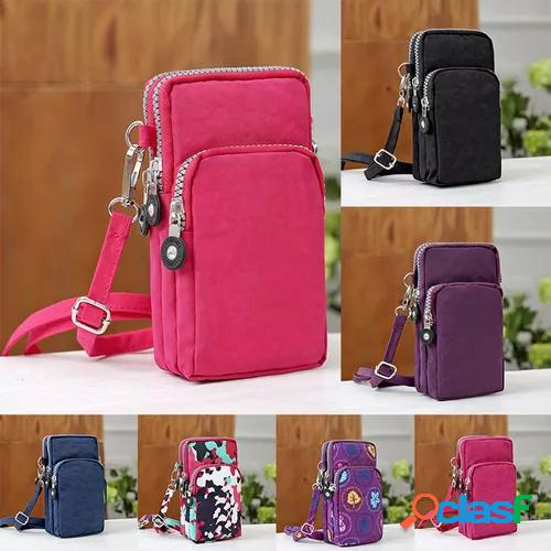 Women casual handbag purse bag shoulder bag phone case wallet hot fashion convenient crossbody