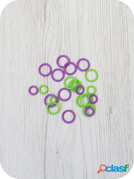 Anelli morbidi ferma maglia clover piccoli piccoli - 1 pz.