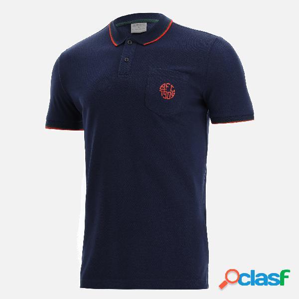 Polo in cotone piquet linea fan bologna fc 2021/22
