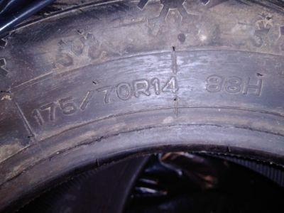 4 pneumatici 175/70r14 88h