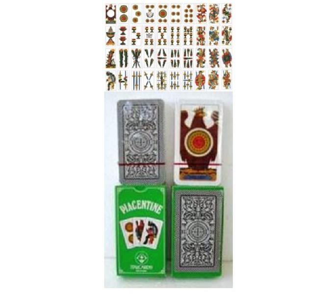 Carte da gioco piacentine anni '90 italcards bologna plastif modena - collezionismo in vendita