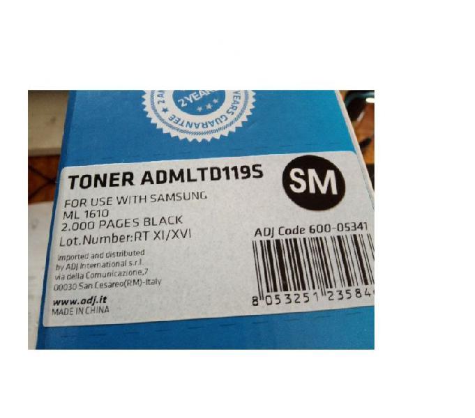 Toner per stampante samsung ml 1610 bari