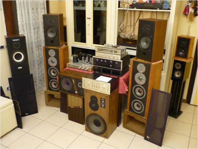 Audio hifi vintage usato