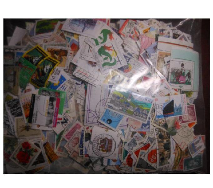 Germania - 2.000 francobolli usati taranto - collezionismo in vendita