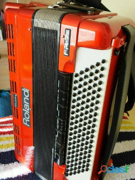 Roland FR7b V Accordion digital Rosso