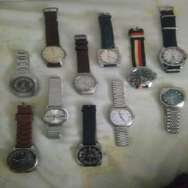 Collezione completa orologi meccanici d'epoca