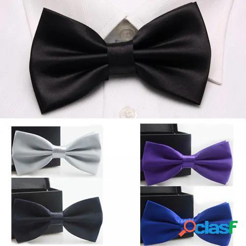 Groom wedding best man fashion silver navy gift tuxedo necktie black bow tie