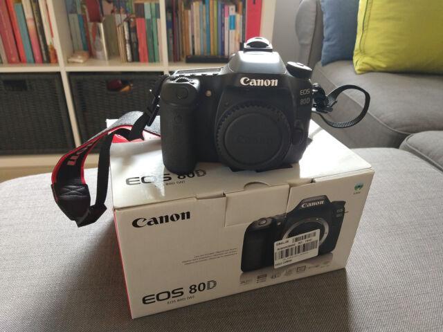 Corredo fotografico canon eos 80d + obiettivi