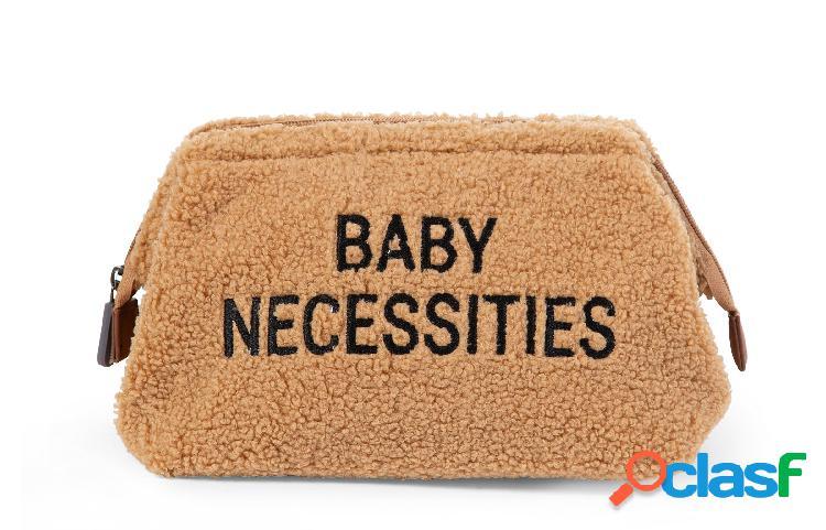 Borsa da toilette childhome baby necessities teddy beige