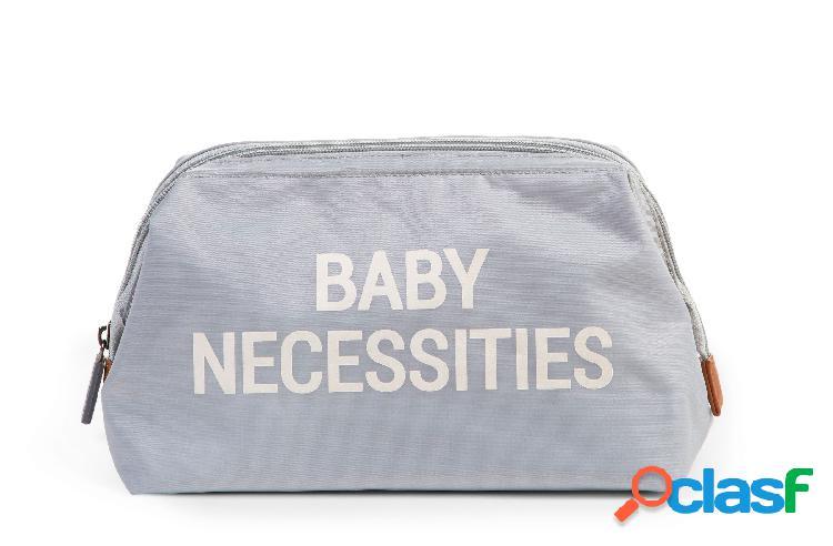 Borsa da toilette childhome baby necessities grigio