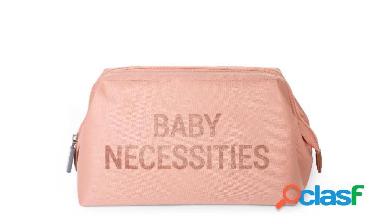 Borsa da toilette childhome baby necessities rosa