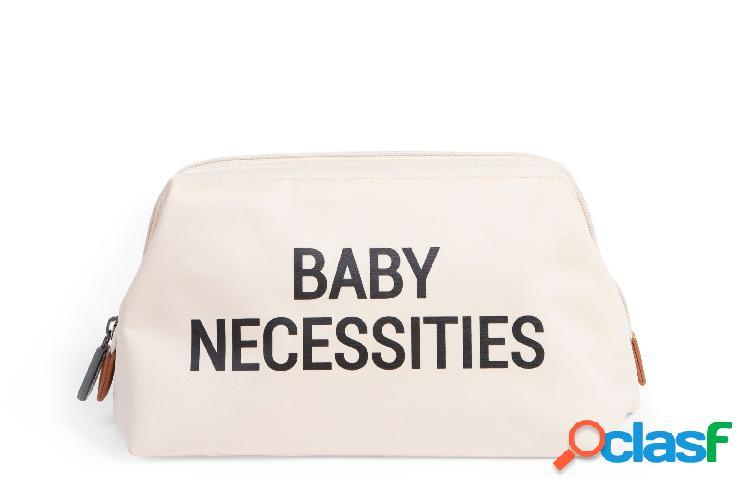 Borsa da toilette childhome baby necessities bianco nero