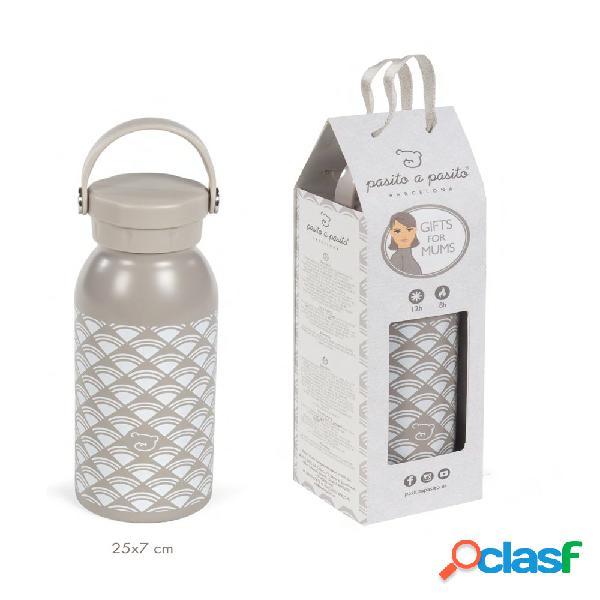 Bottiglia termica pasito a pasito gifts for mums smart travel 500ml grigio