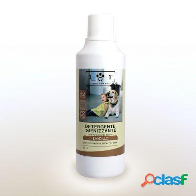 Love for pet detergente pavimenti sandalo 1000 ml