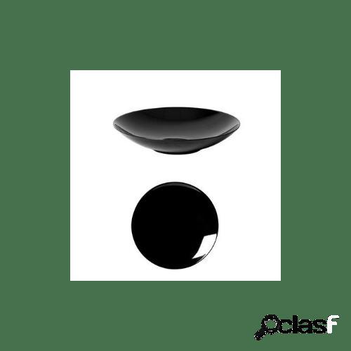 Servizio piatti in porcellana nero fusion, 12 pezzi