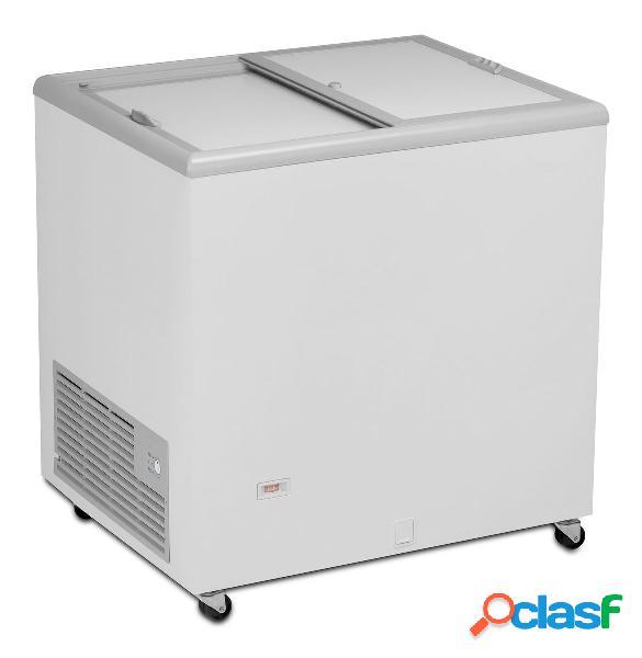 Congelatore a pozzetto statico per gelato 185 lt -26°c/-12°c