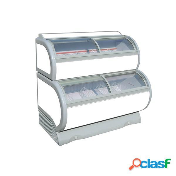 Congelatore a pozzetto statico per gelato 255 lt -25°c/-18°c