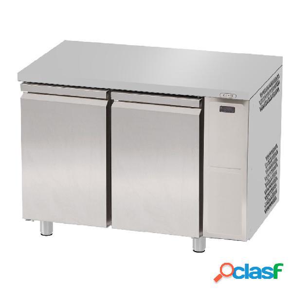 Tavolo refrigerato 2 porte prof. 700 mm 0°c/+10°c motore remoto