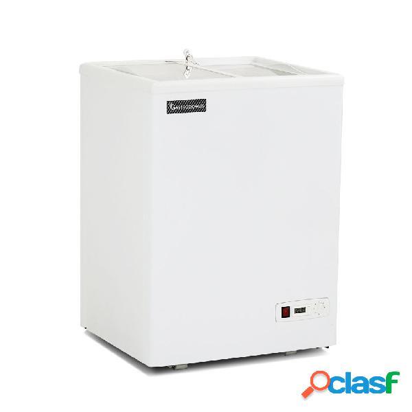 Congelatore a pozzetto statico 97 lt temperatura -18°c