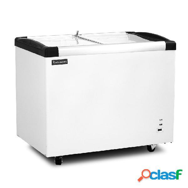 Congelatore a pozzetto statico 355 lt temperatura -18°c