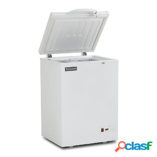 Congelatore a pozzetto statico 97 lt -18°c classe energetica a+