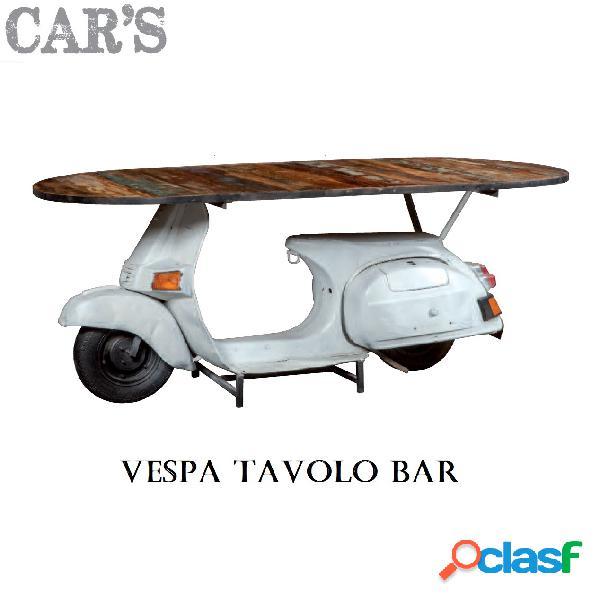 Tavolo bar cars vespa